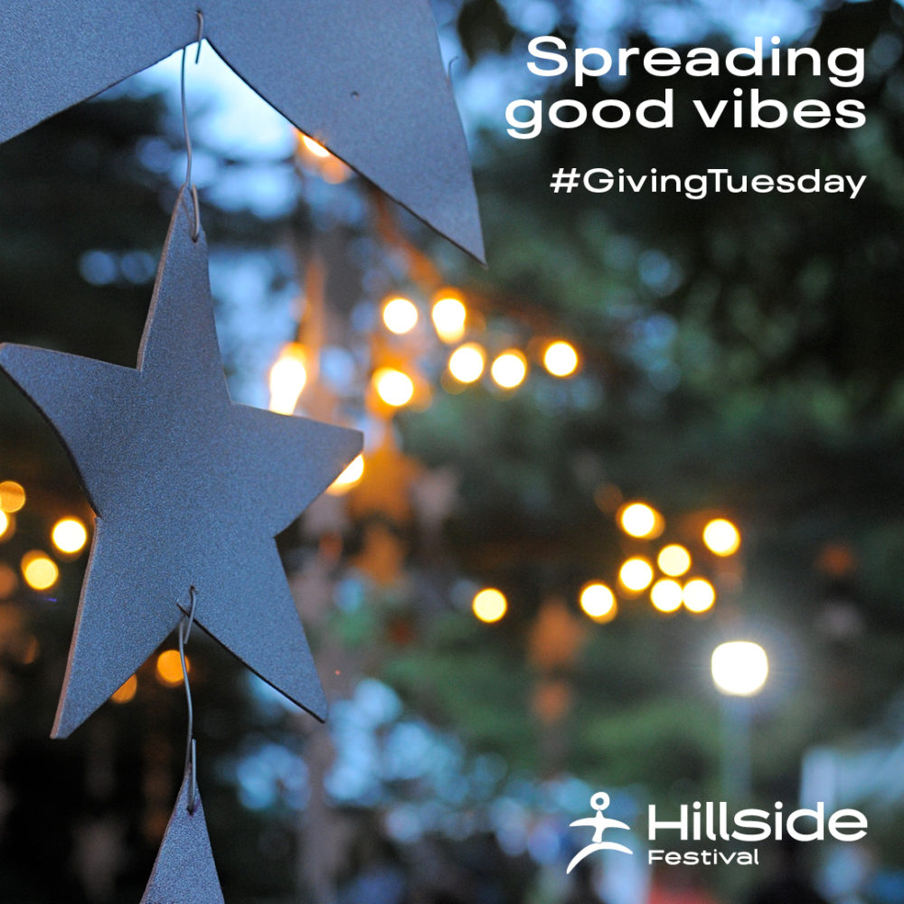 Spreading good vibes #Giving Tuesday