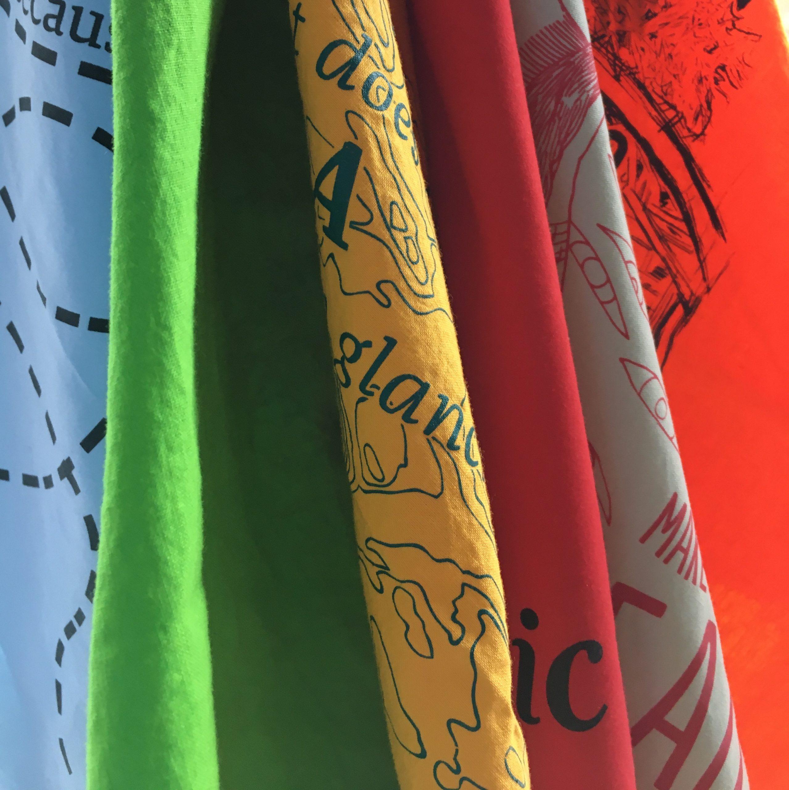 a selection of past hillside bandanas
