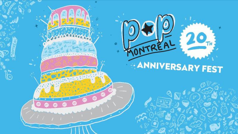 POP Montreal 20th anniversary fest